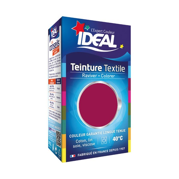 Teinture liquide pour coton - 40 mL - fruits rouges 34 - IDEAL