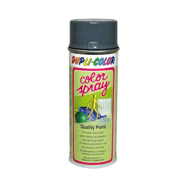 Peinture gris fonte brillant 400ml  674037  dupli color