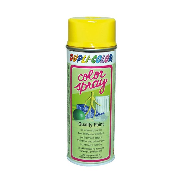 Peinture Jaune colza brillant 400mL - 585005 - DUPLI COLOR