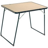 Table pliante D: 80x60cm
