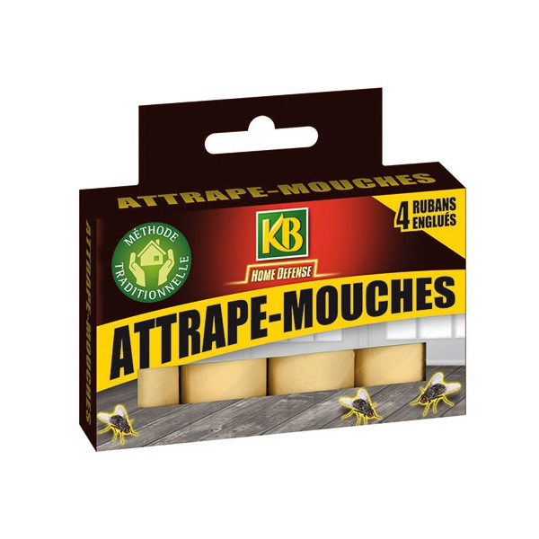 Rubans attrape-mouches - lot de 4 - HDRUB - KB