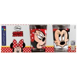 Verre Oh Minnie - motifs assortis 16 cL - lot de 3