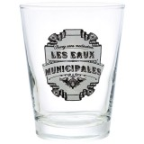Verre bas Eaux municipales 22 cL - lot de 6