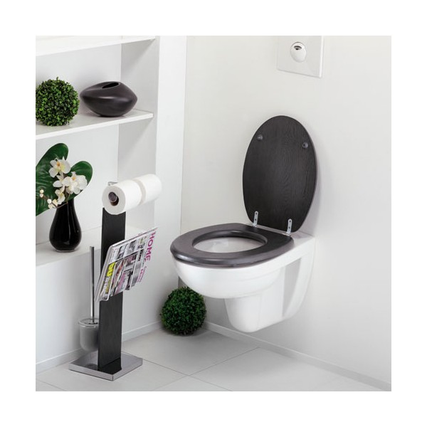 abattant wc vienne bois massif ch ne gris 813973 allibert home boulevard. Black Bedroom Furniture Sets. Home Design Ideas