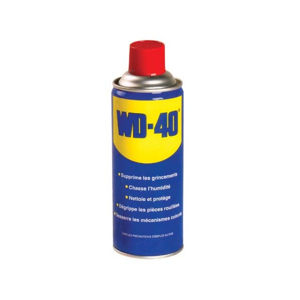 Bombe lubrifiante multi-fonctions WD-40 - 400 mL - 33004 - WD 40