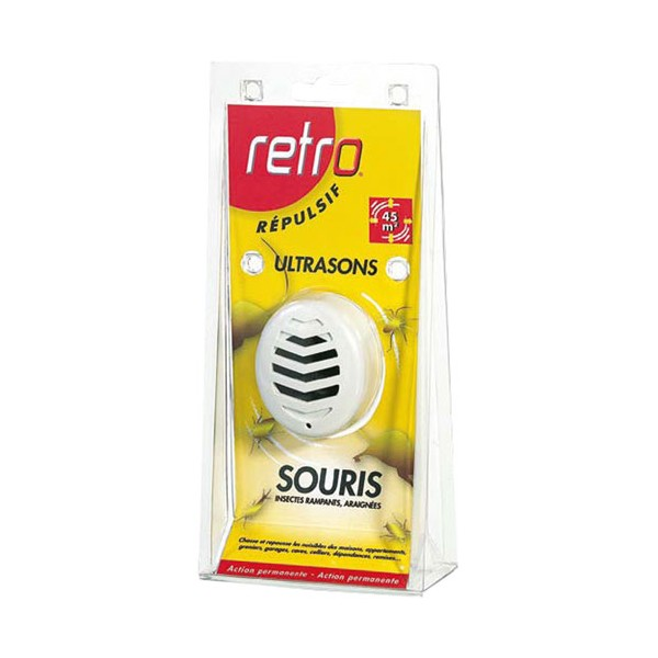 RETRO ULTRASON SOURIS - RAMP 45 M²