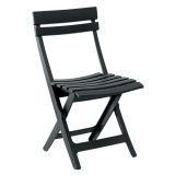 Chaise pliante Miami - anthracite