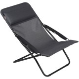 Chaise longue transabed duo - obsidian