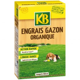 engrais gazon organique 100 m granules 2 5 kg kbgazbioc kb home boulevard. Black Bedroom Furniture Sets. Home Design Ideas
