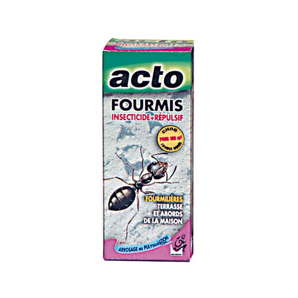 Anti fourmis concentr liquide 200 ml four1 acto for Anti fourmis maison
