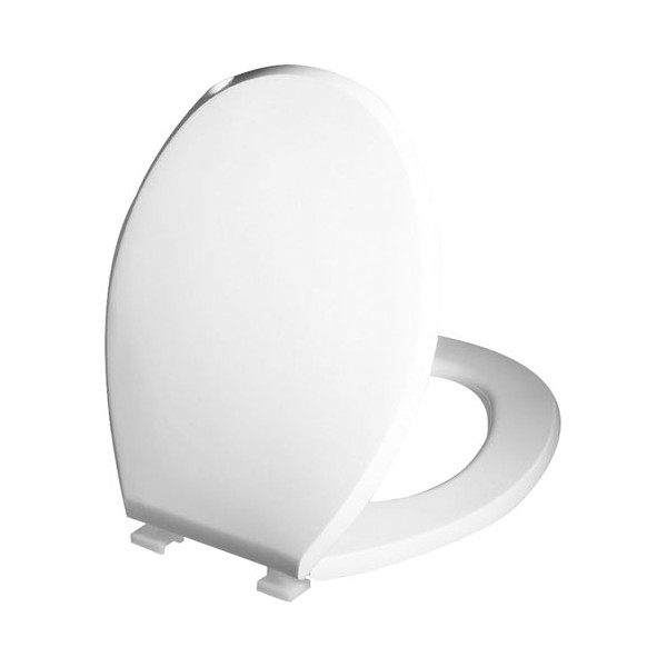 Abattant WC premier - thermoplastique - blanc - 21400001 - WIRQUIN