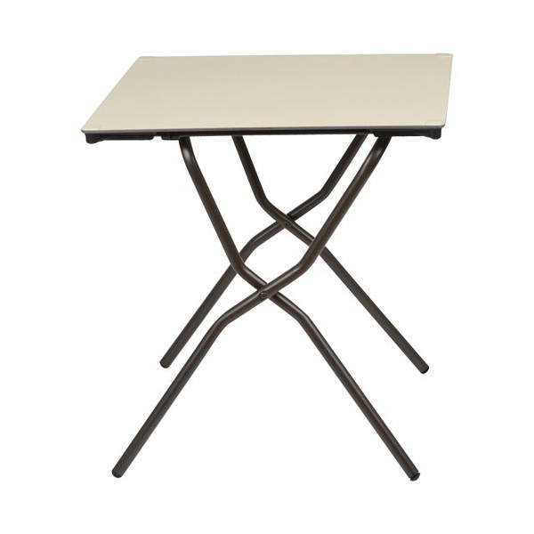 Table pliante anytime - 68 x 64 cm - papyrus - LFM2590-7235 - LAFUMA