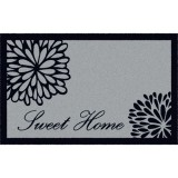 Tapis absorbant graphique - 50 x 76 cm - motifs sweet home