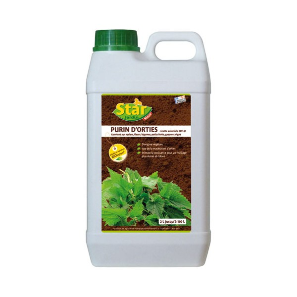Purin d'orties insecticide naturel - 2 L - PO2 - STAR JARDIN