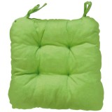 Coussin de chaise carré Ginevra - vert anis