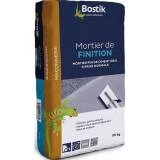 Mortier de finition - gris - 25 Kg