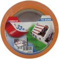 Adhésif PVC - 75 mm x 33 m - orange