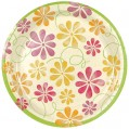 Assiette carton summerwind - D : 23 cm - lot de 10 - 43630010 - Hosti