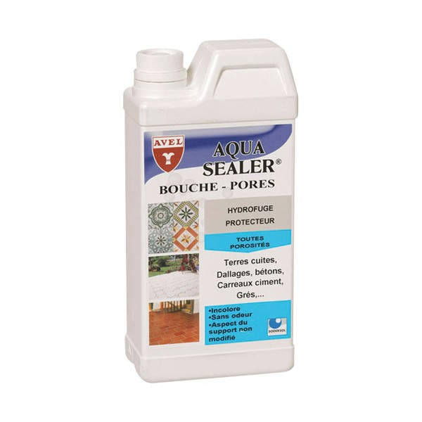 Terrazzo sealer for Bouche pore carrelage