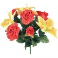 Bouquet roses lys - BS1520ASS - Sistac