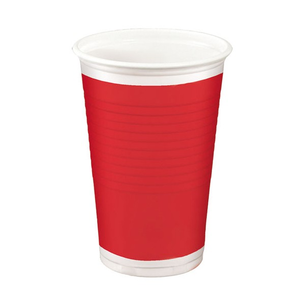 Gobelet 20 cL - Red - lot de 10 - 43309320 - HOSTI