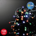 Guirlande lumineuse multicolore - 120 leds - 8 fonctions - 12 m