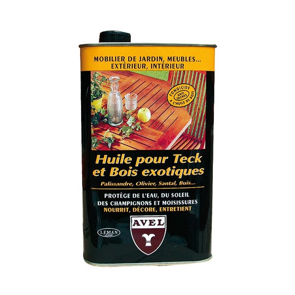 Huile protectrice - teck, bois exotique - 1 L - AVEL