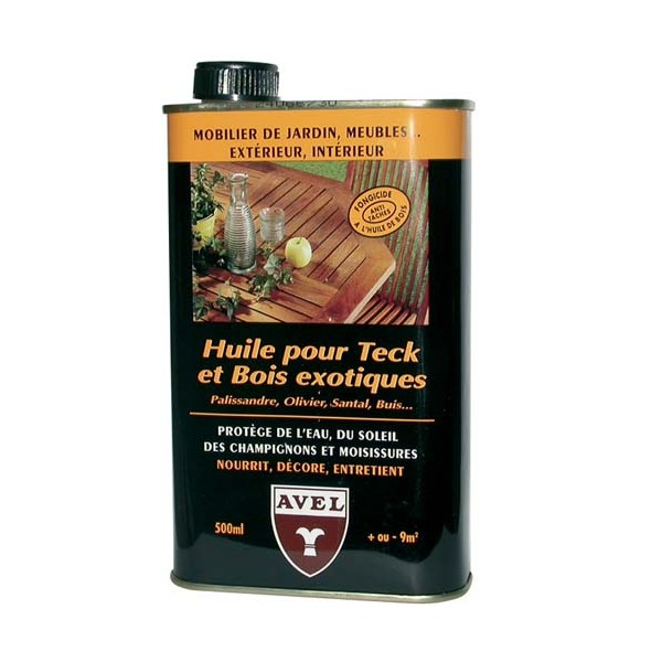 Huile protectrice - teck, bois exotique - 500 mL - AVEL