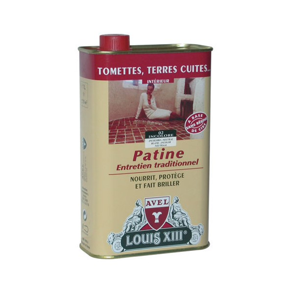 Patine carrelage - incolore - 1 L - LOUIS XIII