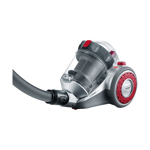 Aspirateur S'Power NonStop - traîneau sans sac 800 W - gris - MY7105 - SEVERIN