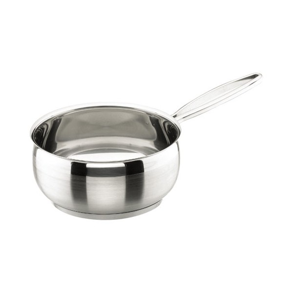 Casserole Belly D : 18 cm - inox - 79218 - LACOR