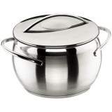 Marmite Belly D : 20 cm + couvercle - inox