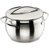 Marmite Belly D : 24 cm + couvercle - inox