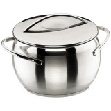 Marmite Belly D : 28 cm + couvercle - inox