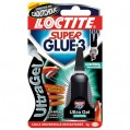 Colle Super glue3 - ultragel control - 3 g - 1599863 - Loctite