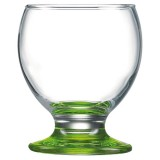Verre bas à pied 21 cL Nectar colorama - lot de 6