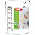 Verre doseur 0.5 L Kitchen Lab - 4 graduations - LABBK50/5040 - Pyrex