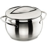 Marmite Belly D : 16 cm + couvercle - inox