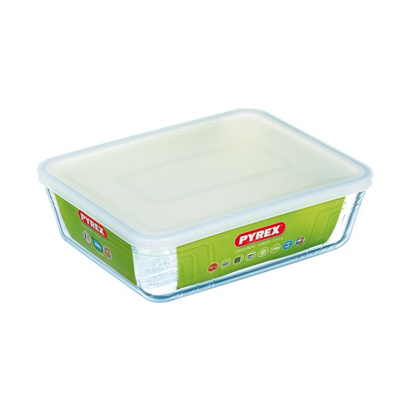 Plat rectangle micro ondes Classic - 27 x 23 cm - 244P000/5043 - PYREX