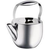 Théière à piston 1.5 L Columbia - inox brillant
