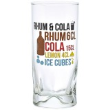 Verre rhum cola 27 cL - lot de 6