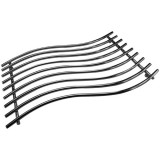 Dessous de plat rectangle - 40 x 25 cm - chromé