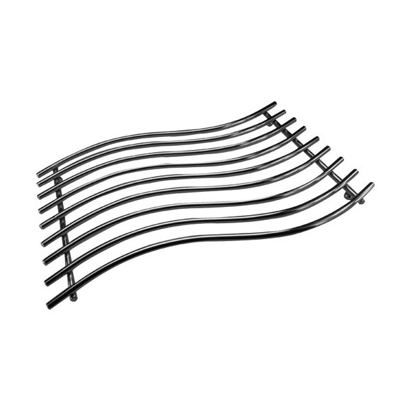 Dessous de plat rectangle - 40 x 25 cm - chromé - 6188 - TUFTOP