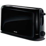 Grille-pain Daily Collection 1 fente large 1150 W - noir