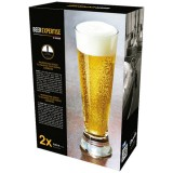 Chope à bière 31 cL Dublin beer expertise - lot de 2