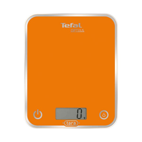 Balance de cuisine électronique Optiss 5 Kg - orange - BC5001V1 - TEFAL