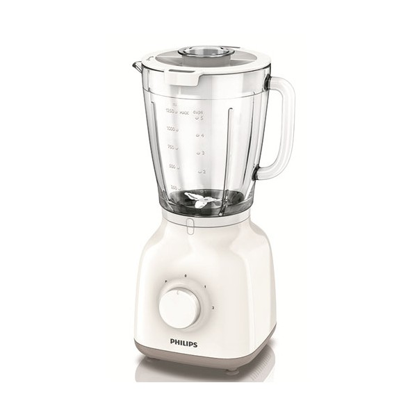 Blender Daily collection 1.5 L - blanc, beige - HR2105.00 - PHILIPS
