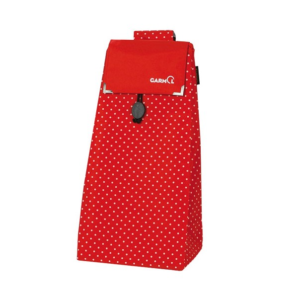 Sac poussette de marché 55 L - Positive points rouge - ABP212PSC-594 - GARMOL