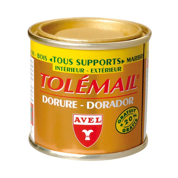 Dorure tolémail or riche - 50 mL - AVEL