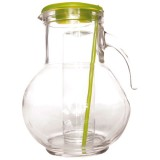 Carafe Kufra couvercle vert - 2 L